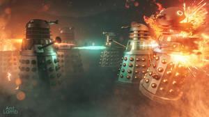 Dalek Ground War by AntLamb
