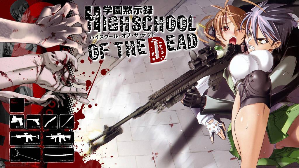 Highschool of the Dead 2 by RamaelK