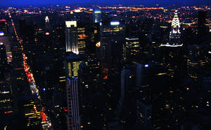 View from the Empire State Building by ShipperTrish