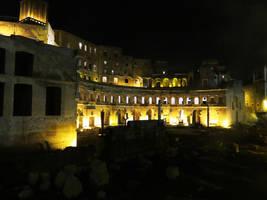Ruins at Night  by ShipperTrish