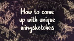 Vid-Tutorial: Designing Wingsketches by Caentris