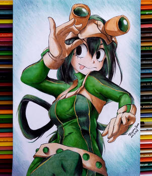 Asui tsuyu - My Hero Academia by IcaroLQ
