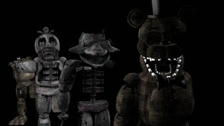 [C4D] Burns by 666TheFoxGamer666