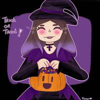 Trick or treat!  by ThatMoonlightJewel