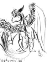Sketch-a-vember 2010 - Day 12 by Ginkage