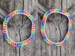 Rainbow Rubber Bracelets! by Ginkage