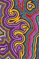 Marker Swirls 1 by Ginkage
