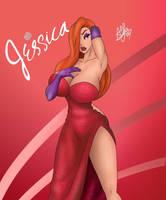 Jessica Rabbit by Alfoxer2000