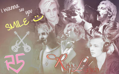 Ross Lynch/R5 I wanna ee you SMILE :) by FrancyCaptainSwan