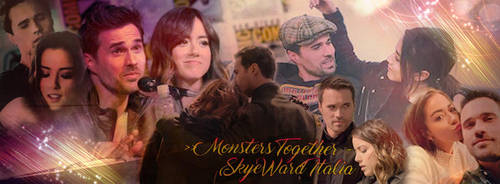 Monsters Together - Skyeward Italia by FrancyCaptainSwan