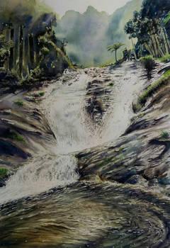 Waterfall by Raz-Veinz