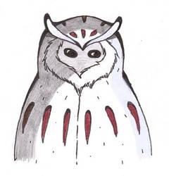 Fluffy Nite Owl Coat by Daenerys240