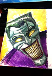 Joker with markers by mysrerio
