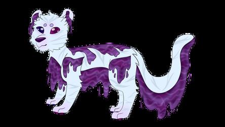 Amethyst - MYO [Lagoon Lion] by MamylTheComet