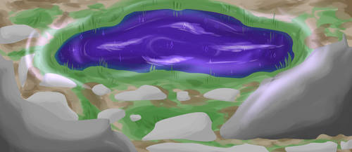 Purple pond [Th'rehsiia] by MamylTheComet
