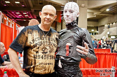 Pinhead meets Doug Bradley by PxScosplay