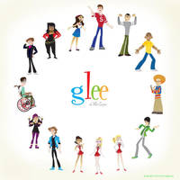Glee by mikeysammiches
