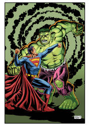 HULKvsSUPERMAN COR NET by Guelin
