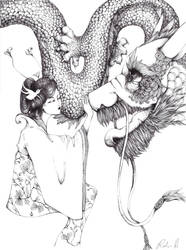 dragon lady by prince-pocky