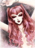 Realistic Yohko in color by HyperLaceAlchemists