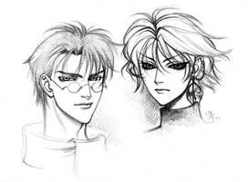 Fuuma and Kamui by HyperLaceAlchemists