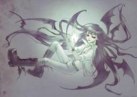 Vampire Doll Loki by HyperLaceAlchemists