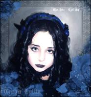 My little gothic niece by HyperLaceAlchemists