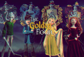 The Golden Four by HannahLunaBarker