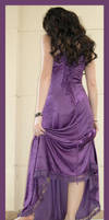Purple Dress 2 by Lisajen-stock