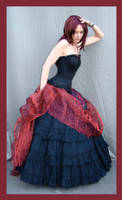 Red And Black 8 by Lisajen-stock