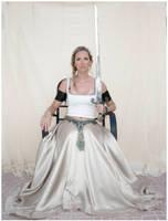 Sword Lady 3 by Lisajen-stock