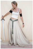 sword lady 4 by Lisajen-stock