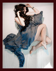 bleu sheet 5 by Lisajen-stock