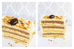 Coffee-Vanilla Layer Cake by dabbisch