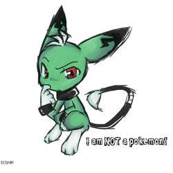it's NOT pickachu by EvilYuki-ku