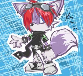 Yuki sonic style by EvilYuki-ku