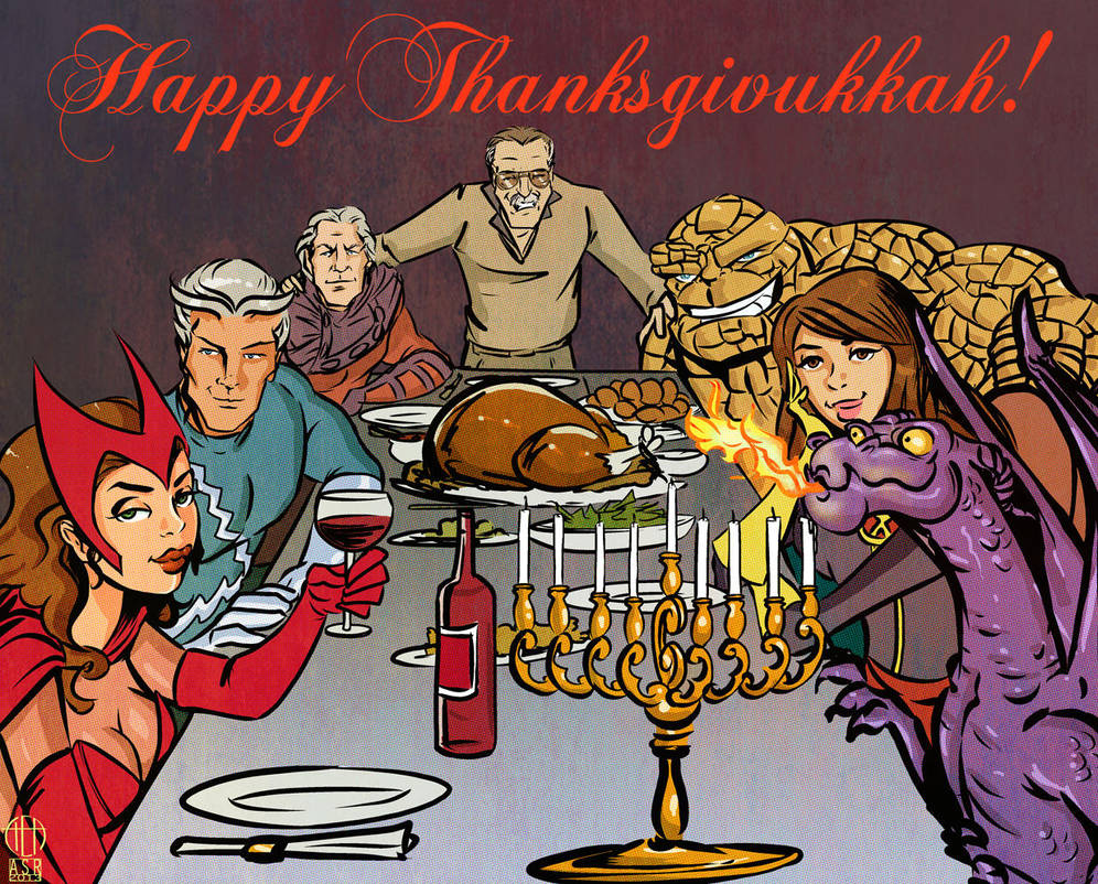 Happy Thanksgivukkah by Theamat