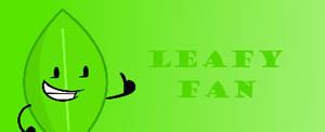 Leafy Fan Button by Thegreenskyofbfdi