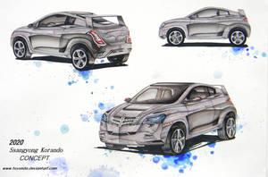 Ssangyong Korando 2020 Design by toyonda