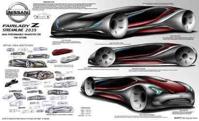 Nissan Z Roadster 2035 Concept Design by toyonda