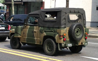 ROK Army Vehicle, My Military service by toyonda