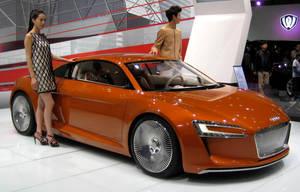 Audi R8 E-Tron Concept by toyonda