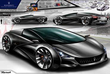 Maserati Merak Design Concept 2020 by toyonda