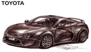 Toyota Celica Supra Turbo Concept by toyonda