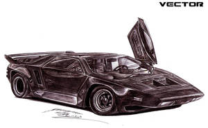 Vector W8 Twin Turbo by toyonda