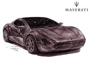 Maserati Chicane Coupe Concept by toyonda