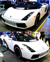 White Gallardo Roadster by toyonda