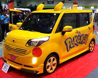 POKEMON : Pikachu Theme Kia Ray Microvan by toyonda