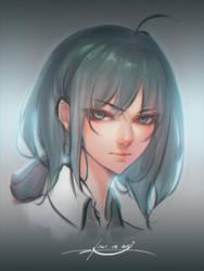 Comic Girl by Krisedge