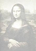 ASCII Mona Lisa by mikenu